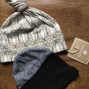 Other - Two baby hats Organic psychedelic & hipster beanie